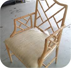 pair of vintage faux bamboo mcguire chairs furniture pinterest