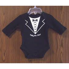 new year baby clothes happy new years baby boy tuxedo onesie creeper
