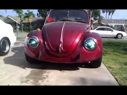 hid lights for classic cars 1969 vw bug projector hids youtube