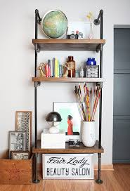 how to build a pipe shelf u2014 diy house of hipsters