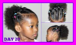 natural hair styles for 1 year olds cute hairstyle for curly hair kids 30 days of hairstyles day 20