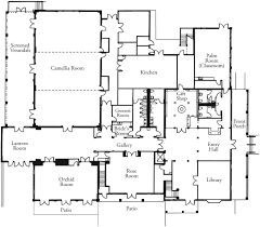 Floor Plan Of A House With Dimensions Floor Plans Leu Gardens