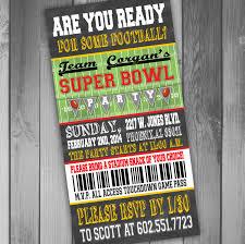 super bowl party invitation template cimvitation