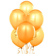 gold balloons qualatex 11 balloons gold pack of 100