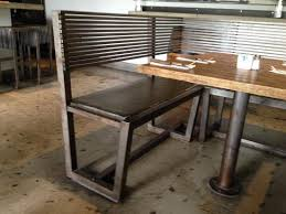 metal frame bench horribly uncomfortable bench no padding on seat and steel frame