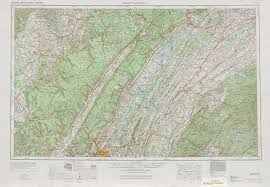 Maps Tennessee by Chattanooga Topographic Maps Tn Nc Usgs Topo Quad 35084a1 At 1