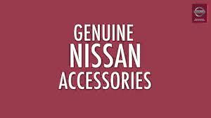 nissan genuine accessories prices genuine nissan accessories u0026 nissan value advantage parts youtube