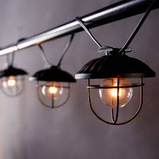 Industrial String Lights by 30 Industrial Style Lighting Fixtures To Help You Achieve