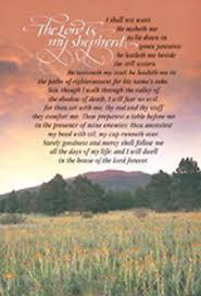 funeral bulletins standard funeral bulletin the lord is my shepherd