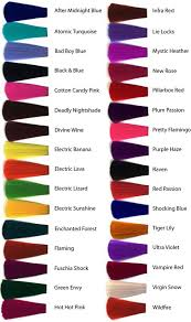 Colors Of Purple Best 25 Hair Dye Colors Ideas On Pinterest Awesome Hair