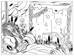 sleeping beauty fairy tales coloring pages for adults justcolor