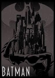 Based Off Of by Batman Poster Based Off Of Jósef Bottlik U0027s 1927 Metropolis Poster