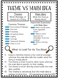 story themes about friendship teaching theme with each kindness comprehension connection