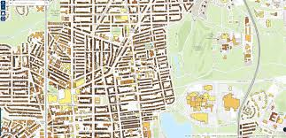 Washington Dc Attractions Map Historic Preservation Park View D C