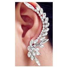 one ear earring 330 best earring trends 2017 images on ear jacket