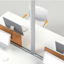 passe fils bureau guide passe fils de 2 400 mm du bureau au plafond quincaillerie