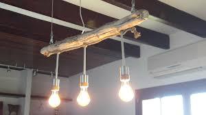 Nostalgische Esszimmerlampen Treibholz Lampe U2013 Finde Strandgut Dawanda