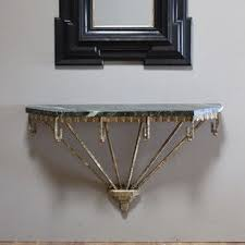 wall mounted console table 20 best wall mounting demilune console images on pinterest console