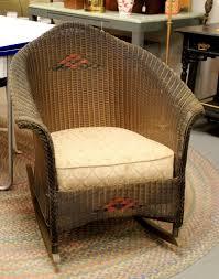 Vintage Childrens Rocking Chairs Found In Ithaca Antique Wicker Rocker Sold