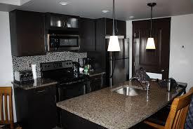 backsplash ideas for dark cabinets stone backsplash ideas with dark cabinets home design ideas