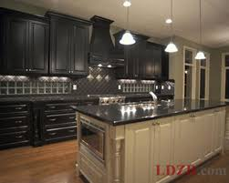 dark kitchen cabinets home interior ekterior ideas