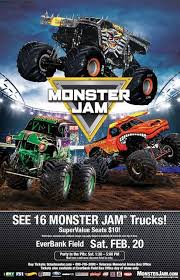 monster truck show ticket prices jam 2018 everbank field stadium home of the jacksonville jaguars