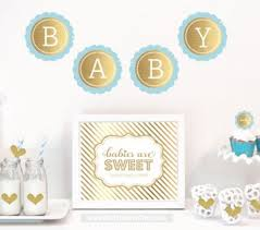 blue and gold baby shower decorations baby shower decorations bath time time