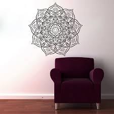 most popular home decor most popular vinyl art wall decals mandala flower home decor