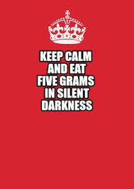 Make Keep Calm Memes - meme maker keep calm and eat five grams in silent darkness