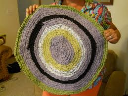 How To Rag Rug Learn The Formula To Make A Circle Crochet Rag Rug Part 2 Youtube