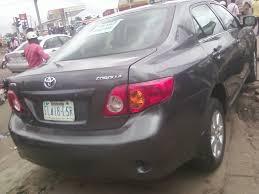 toyota 2008 price toyota corolla 2008 model 20km auto n1 9million autos nigeria