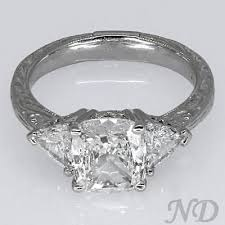 Vintage Style Cushion Cut Engagement Rings 155 Best Engagement Rings Images On Pinterest Wedding Stuff