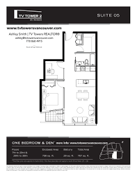 floor plans tv tower 2 tv towers vancouver
