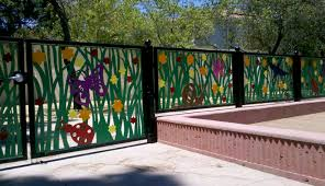 decorative metal fence panels decorative metal fence panels