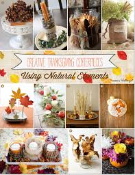 thanksgiving centerpieces 21 ideas using household and garden items