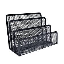 Mesh Desk Organizer File Desk Organizer Mesh Wire Metal Desktop Sorter Tray Organize