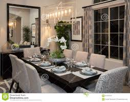 new modern home fine formal dining room stock photo image 67059419