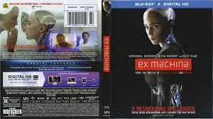 ex machina blu ray dvd cover u0026 label 2015 r1
