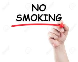 no smoking sign transparent background hand writing no smoking underline text on transparent wipe board