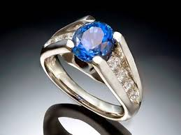 men rings style images Blue sapphire rings for men images jpg
