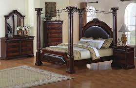 incredible canopy bedroom sets king poster bed marble top 5 piece