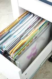 how to organize a file cabinet system home office file folder organization in ikea micke desk iheart