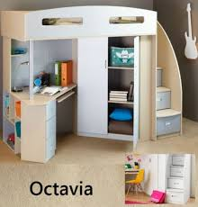 Bunk Bed With Study Table Children Bunk Beds With Desk Loft Beds Bunk Beds With Desk