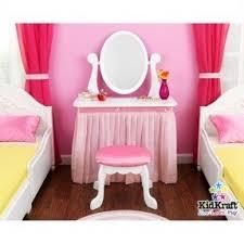 Pink Vanity Table Girls Wooden Vanity Set Foter