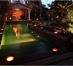 lighting around pool deck incredible outdoor pool lighting effects for elegant backyard with