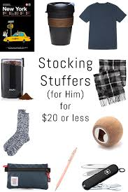 Stocking Stuffer Ideas For Him Holiday Gift Guide Stocking Stuffers For 20 Or Less Erin Spain