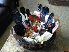 kitchen gift basket ideas create a kitchen gift basket in a colander giftidea
