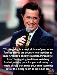stephen colbert s guess who s coming to dinner it s me stephen