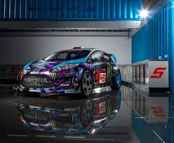 Cars Ken Block Ford Racing Gymkhana Ford Fiesta Wrc Rally Car