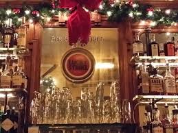 breslin bar and dining room 12 new york restaurants with great holiday decorations the
